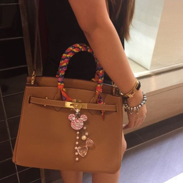 50d7f16f16f1 INSTOCK  LNIB AUTHENTIC House Of Hello Brown Togo Birkin (30cm ...