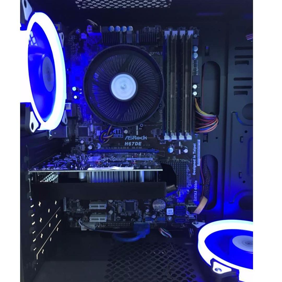 Intel i7 2600 + GTX1050 Gaming PC support PUBG