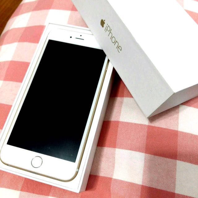 iPhone 6Plus 金色 16G gold 6 plus 5.5吋