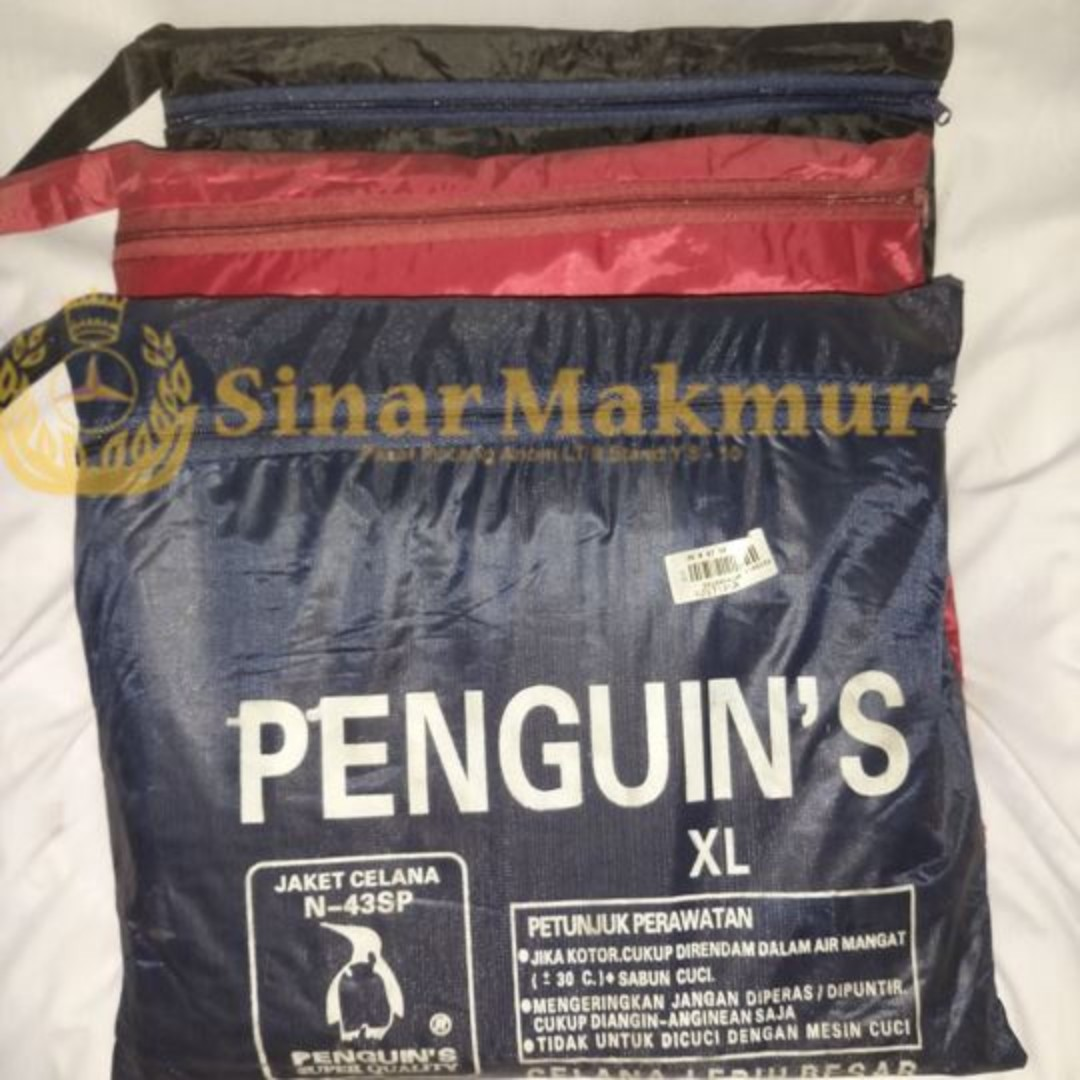 Jas Hujan Penguin (Jaket Celana) XL