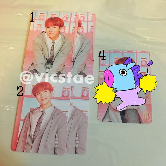 J-HOPE / MINI PHOTOCARDS / BTS 4TH MUSTER HAPPY EVER AFTER