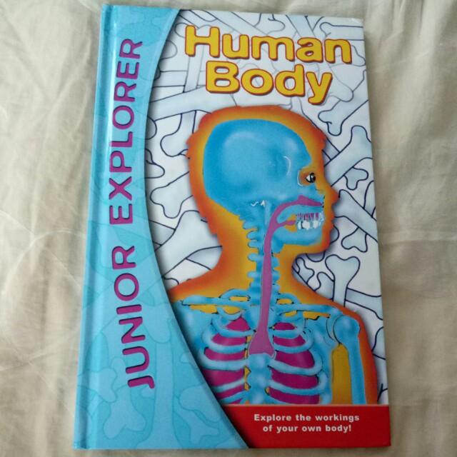 Junior explorer human body