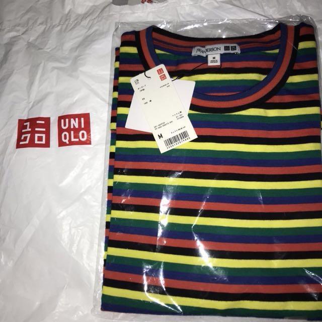 JW Anderson x Uniqlo Multicolored Striped Tee
