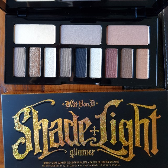 Kat Von D Glimmer Eyeshadow Palette