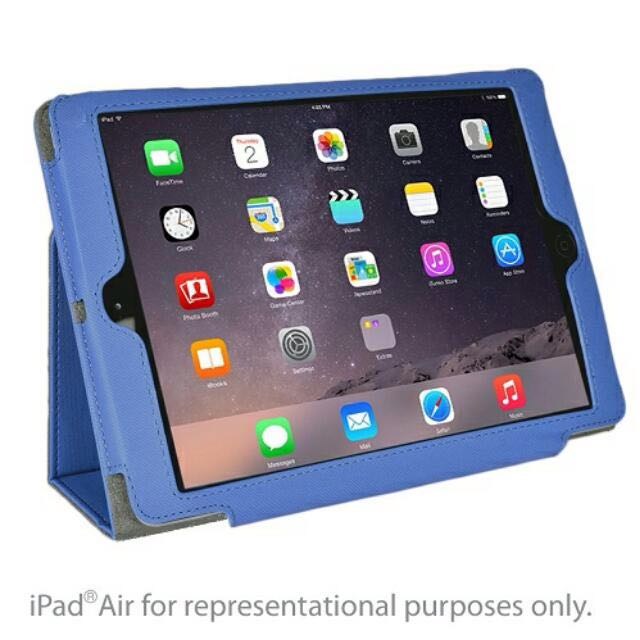 Kensington Blue Soft Folio Case Stand for iPad 5