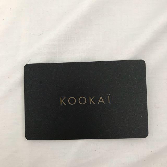 Kookaï gift card / voucher for $180
