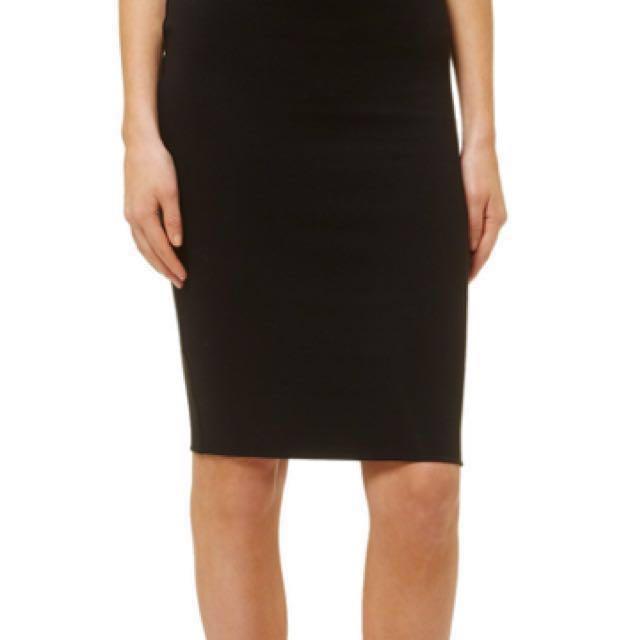 Kookai black midi skirt 3769aab19