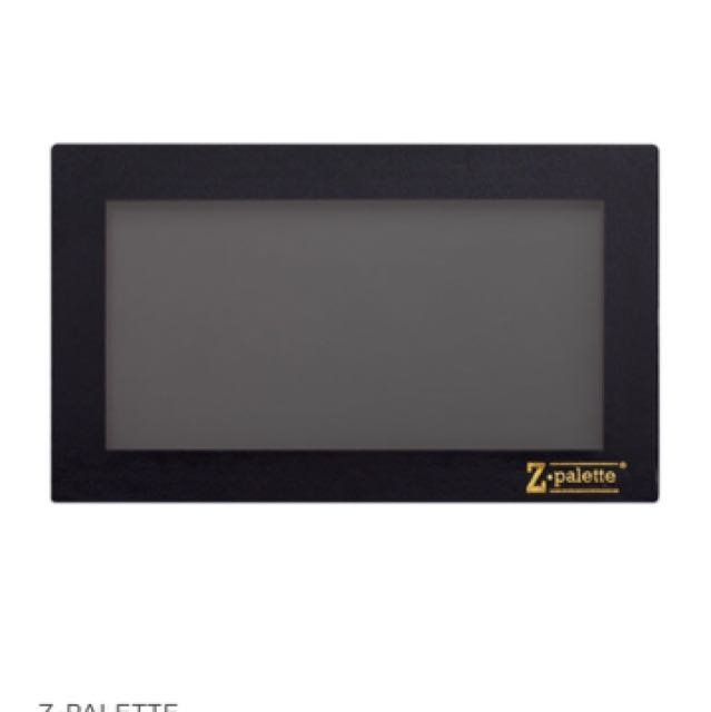 Large black z palette brand new