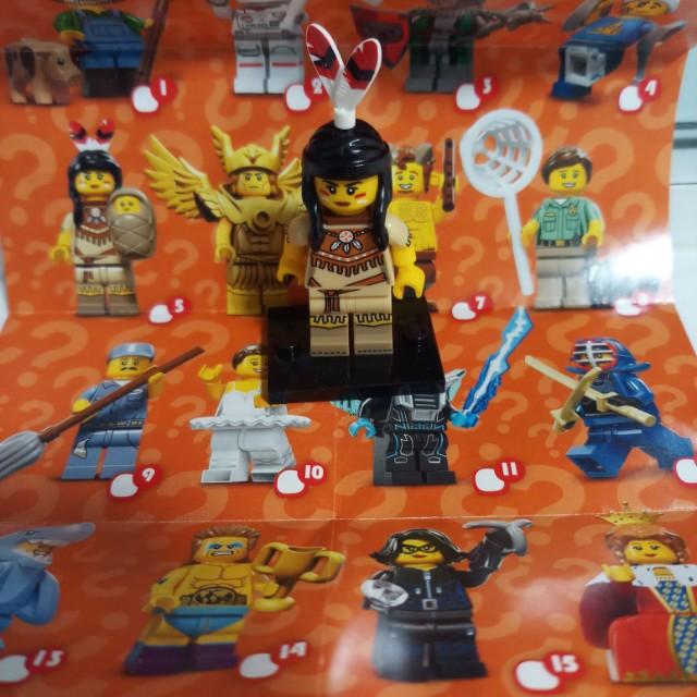 Lego Minifigures Series 15 Tribal Woman(Rare)