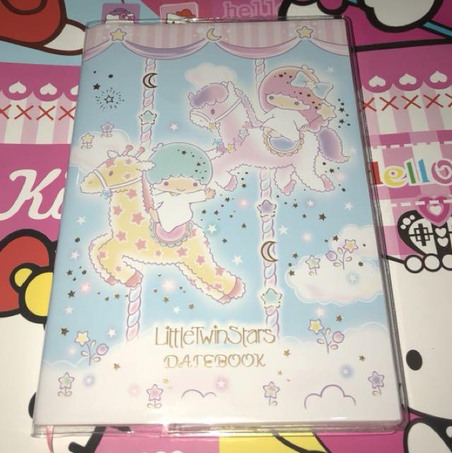 Little Twin Stars Datebook