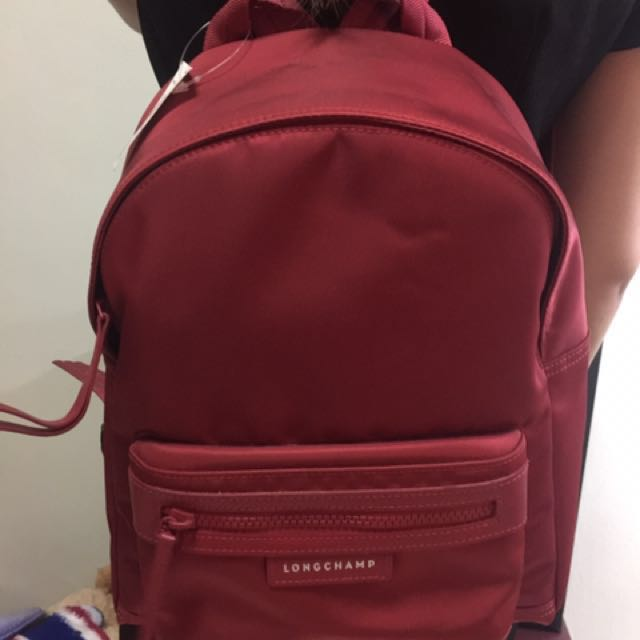 12a0933483 Longchamp Le Pliage Neo Backpack, Luxury, Bags & Wallets on Carousell