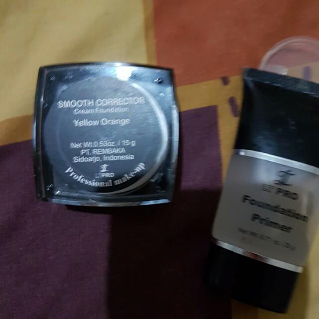 LT pro foundation smooth corerector dan foundatiin primer