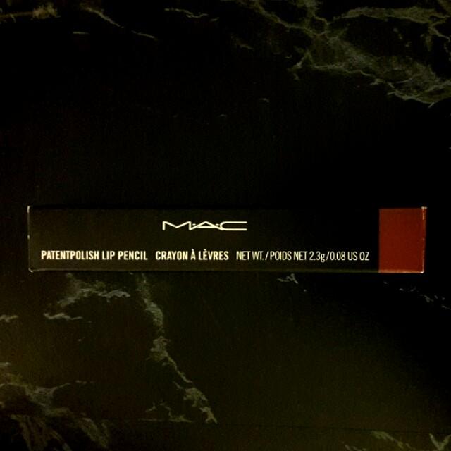 MAC Patentpolish Lip Pencil (Sultana)