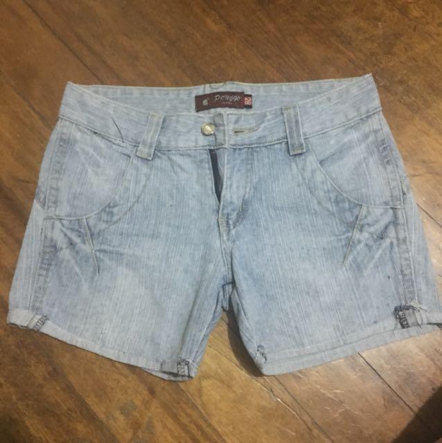 Maong shorts 2