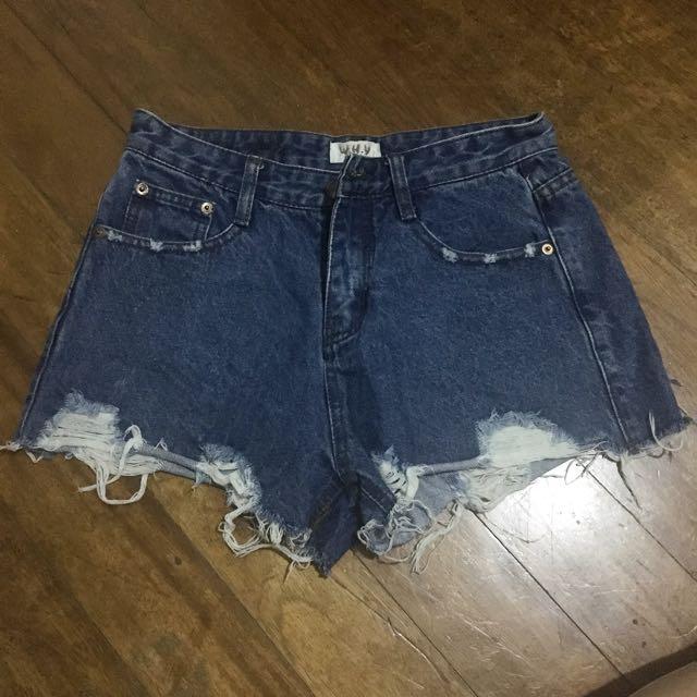 Maong shorts 4