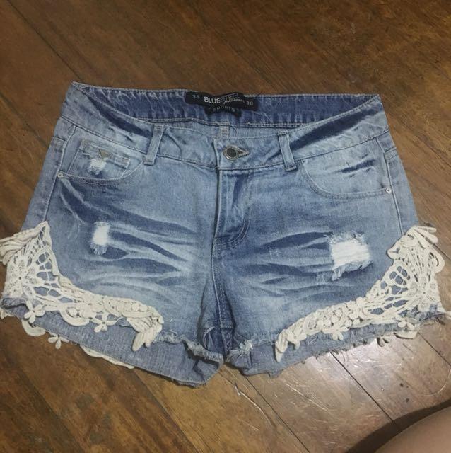 Maong shorts 5