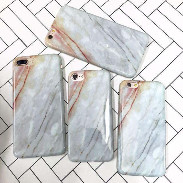 Marble design TPU case