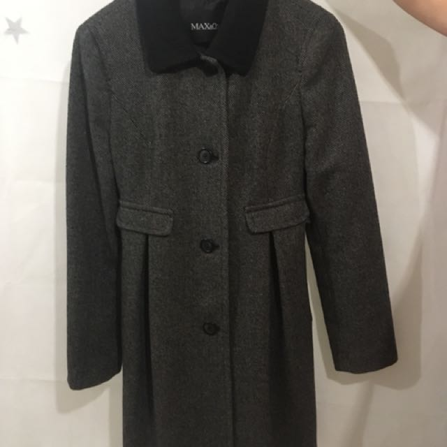 Max & Co Grey Long Jacket