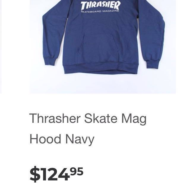 Men's Large authentic thrasher