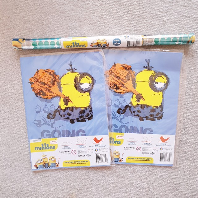 Minion madness - children stationary bundle