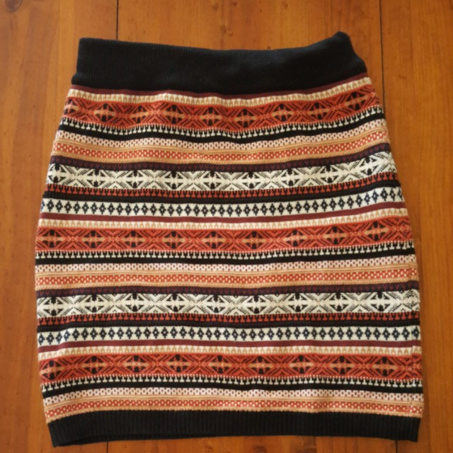 Miss Shop knit skirt