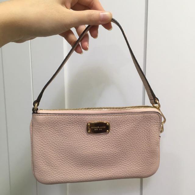 📛美國購入🇺🇸MK粉色手拿包