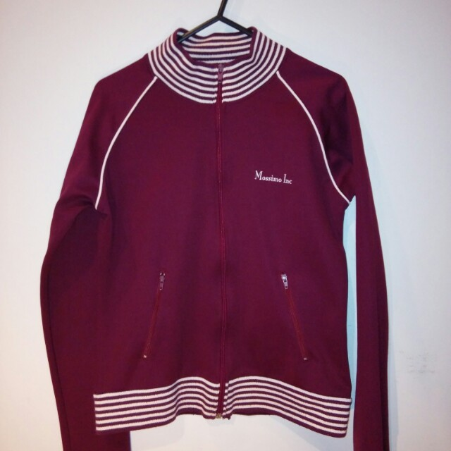 MOSSIMO maroon jacket