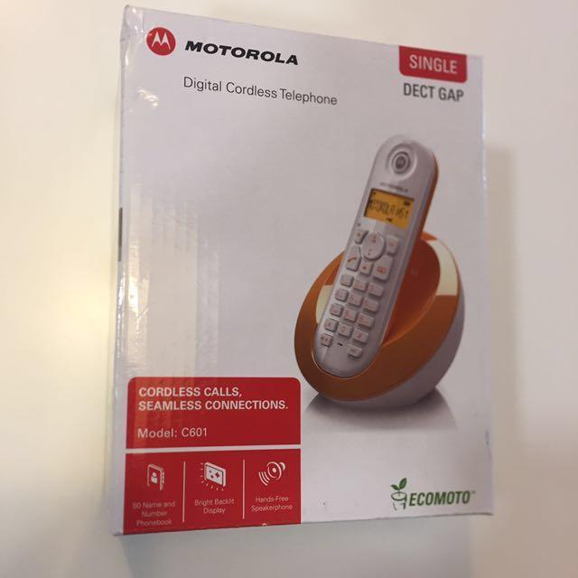 Motorola Pink Cordless Phone