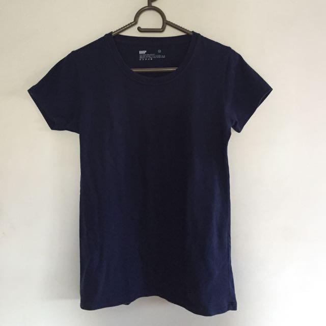Navy blue bench shirt