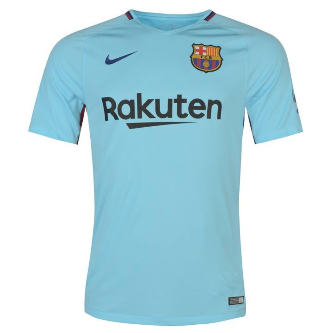 209f9788470 NEW  Barcelona Away Football Kits 17 18 Pre-Order