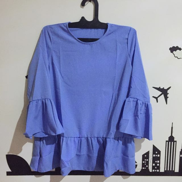 New! Blue Sky Blouse