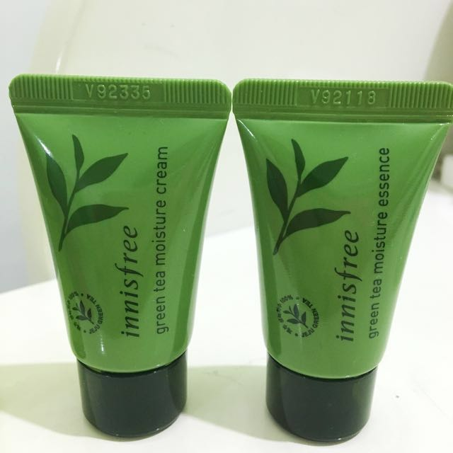 [NEW] Innisfree green tea moisturise cream sample