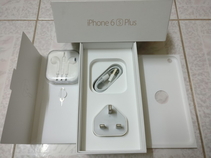 (NEW) IPHONE 6S PLUS BOX &ALL ACCESSORIES INCLUDED