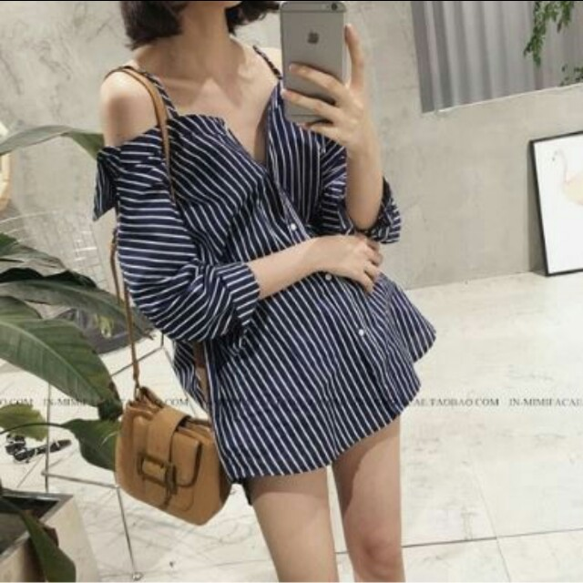 NEW Off Shoulder Oversized Polo top/dress