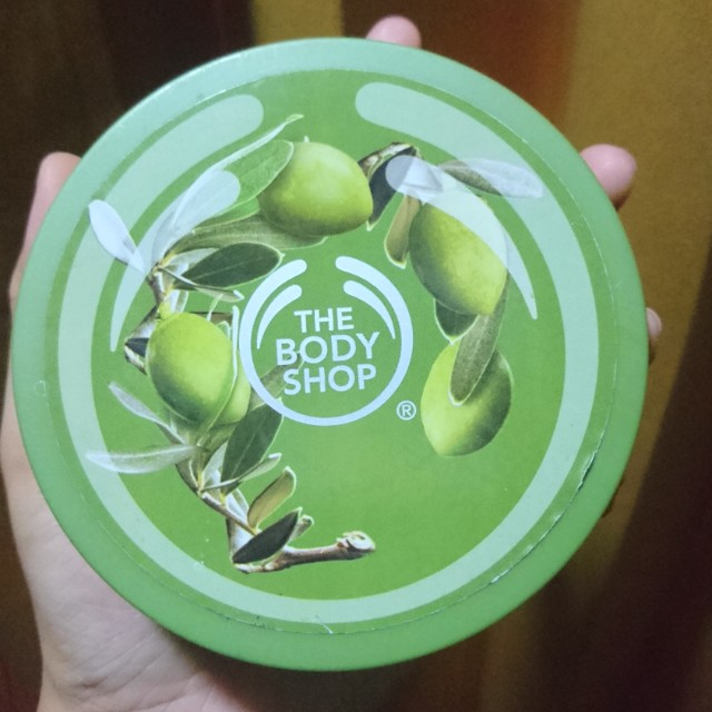 THE BODY SHOP BODY BUTTER OLIVE BIG SIZE (NEW)