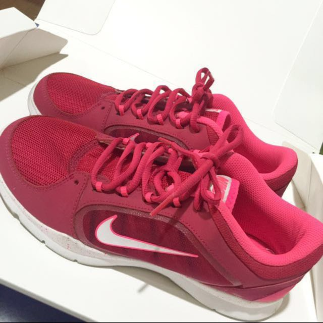 Nike Women Training Shoes Authentic- Pink & Red