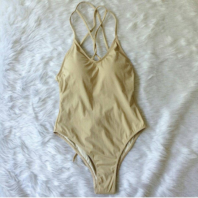 NEW Nude backless onepiece