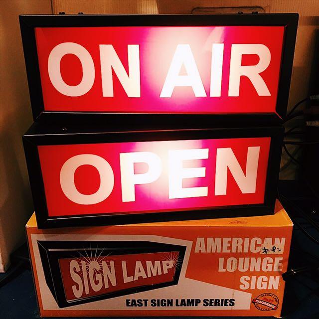 open日本造型燈箱