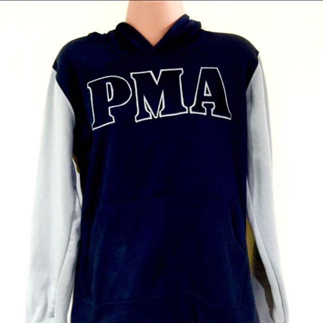 PMA Gray & Blue Hoodie