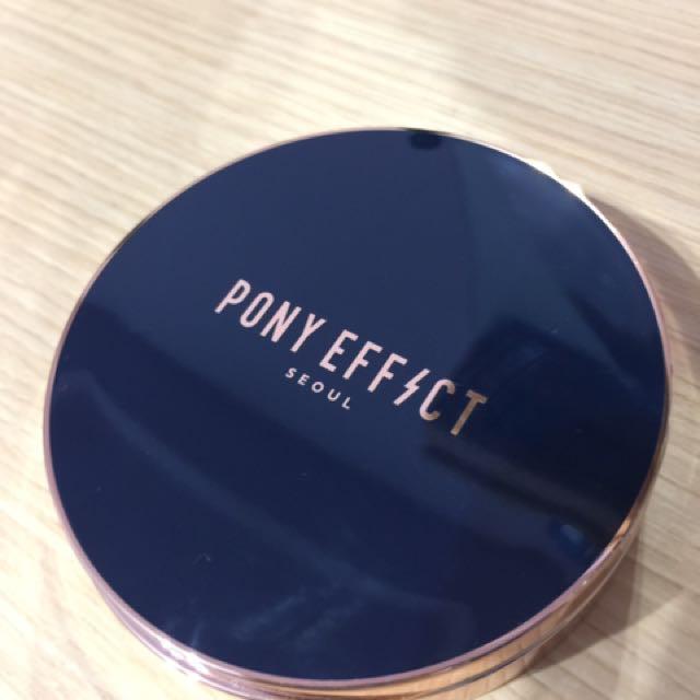 Pony 近全新 防曬蜜粉餅