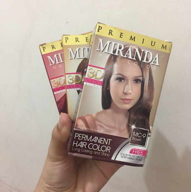 Premium miranda hair colour