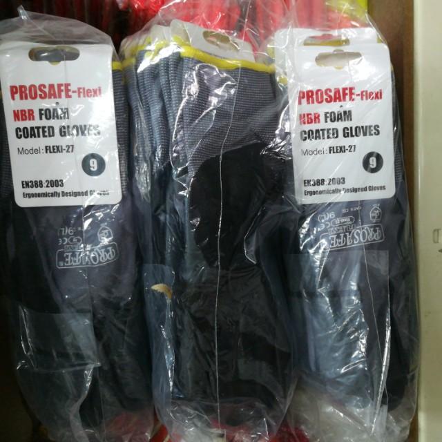 Prosafe Flexi NBR Foam Coated Gloves (One Pair)