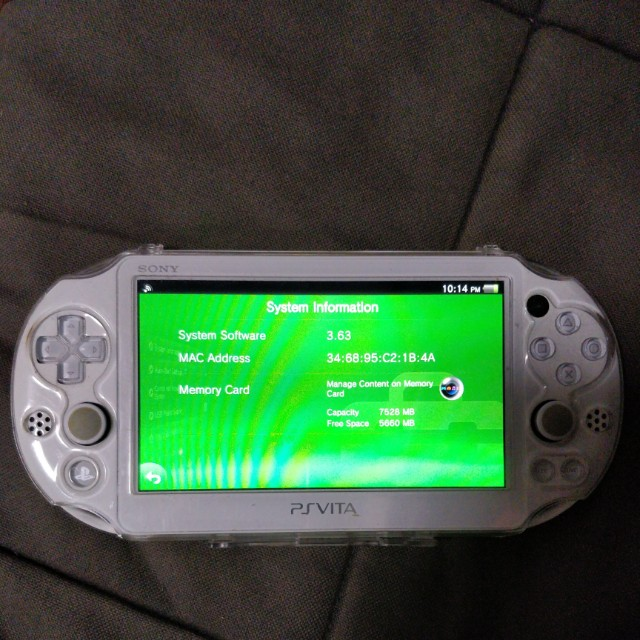 how to find ps vita serial number without sticker