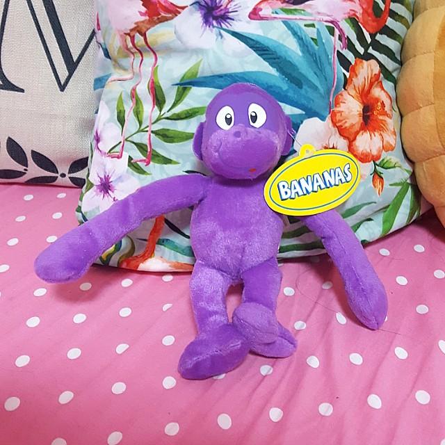 Purple Monkey Plush