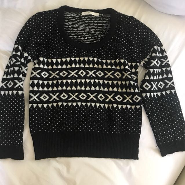 Quirky Circus - Wool Knit Jumper