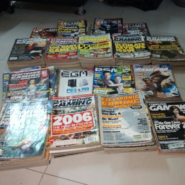 Gaming Magazine Collection 1996-2007 on Carousell