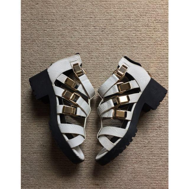 RIVER ISLAND heeled sandals