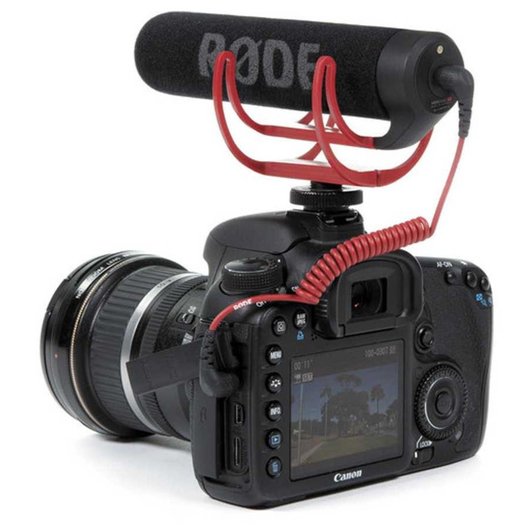 Rode Original VideoMic GO Lightweight On-Camera Microphone. Warna : Hitam. Berat : 1Kg. Garansi Distributor 1Th.
