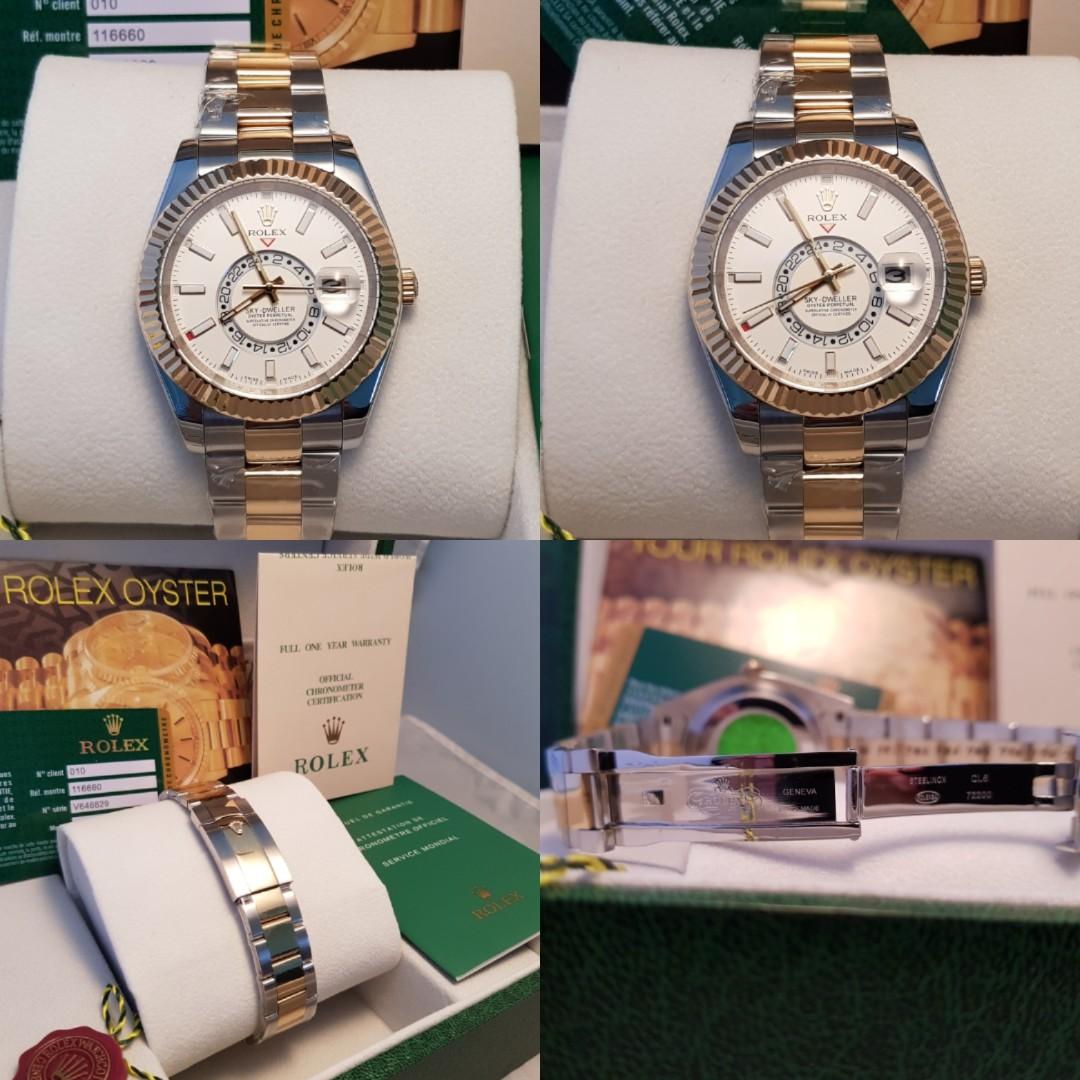 Rolex Skydweller White