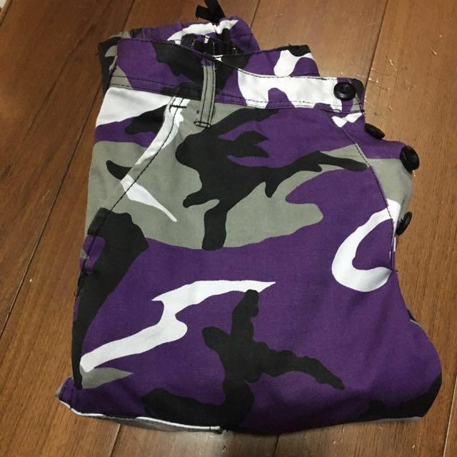 Rothco 迷彩長褲 紫